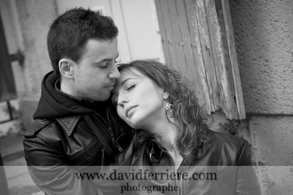 rennes photo noir et blanc offrir un portrait cadeau amoureux saint valentin