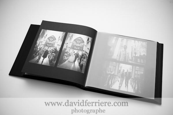 photographe rennes album de mariage photos noir et blanc