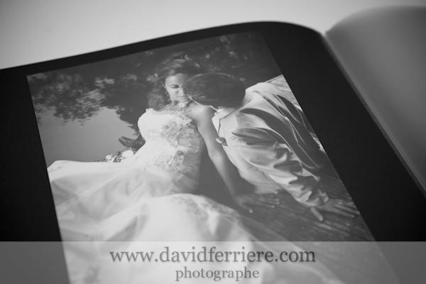 portrait de mariage album photographe rennes