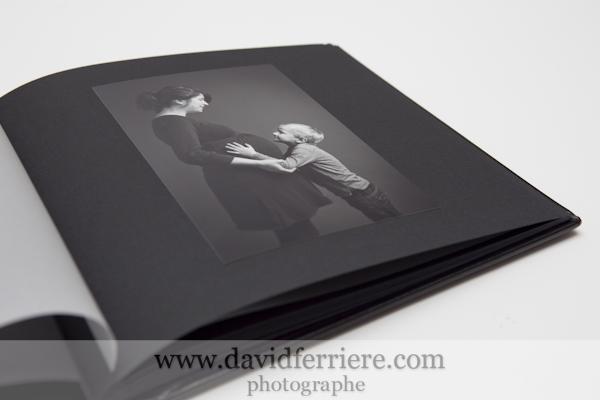 album portrait future maman photos femme enceinte noir et blanc