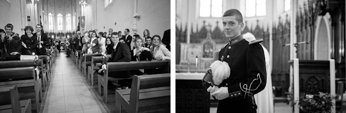 entrée de la mariée dans l'église