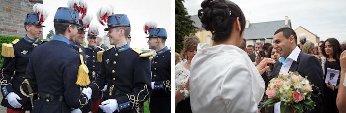 mariage sortie église félicitations