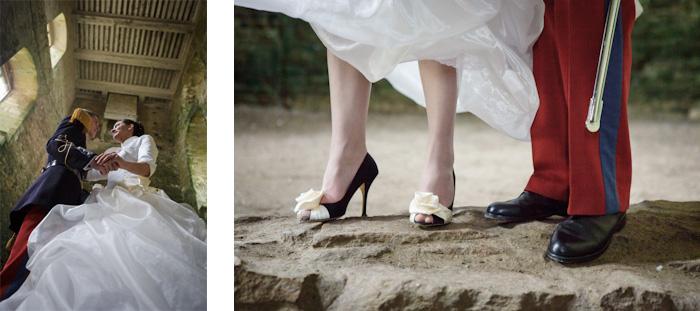 mariage bretagne photo couple en couleur mariage morbihan