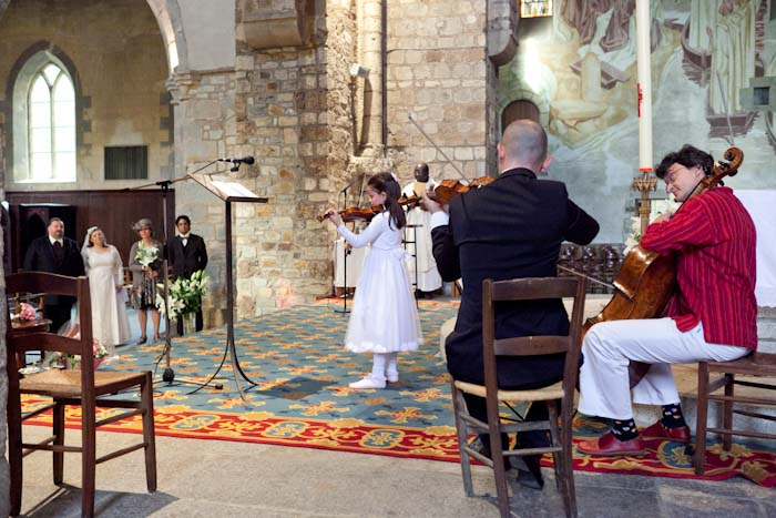 mariage rennes musiciens animation cérémonie religieuse