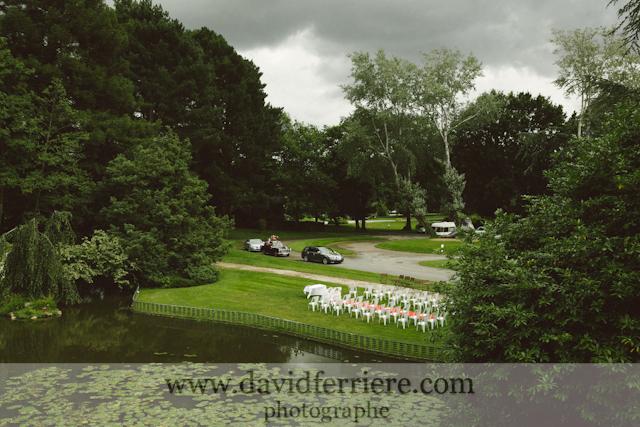 mariage bretagne cérémonie en plein air échange de voeux extérieur