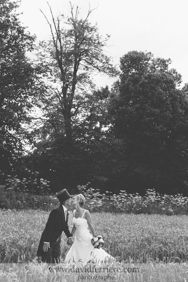 mariage normandie château de creully photographe portrait couple mariage