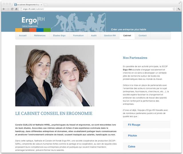Coralie GUILLOU et Nathalie HIREL, psychologues du travail et ergonomes